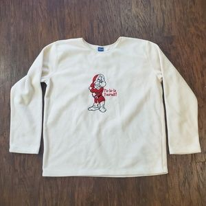 Disney Snow White Grumpy Fa La La Yourself Sweater